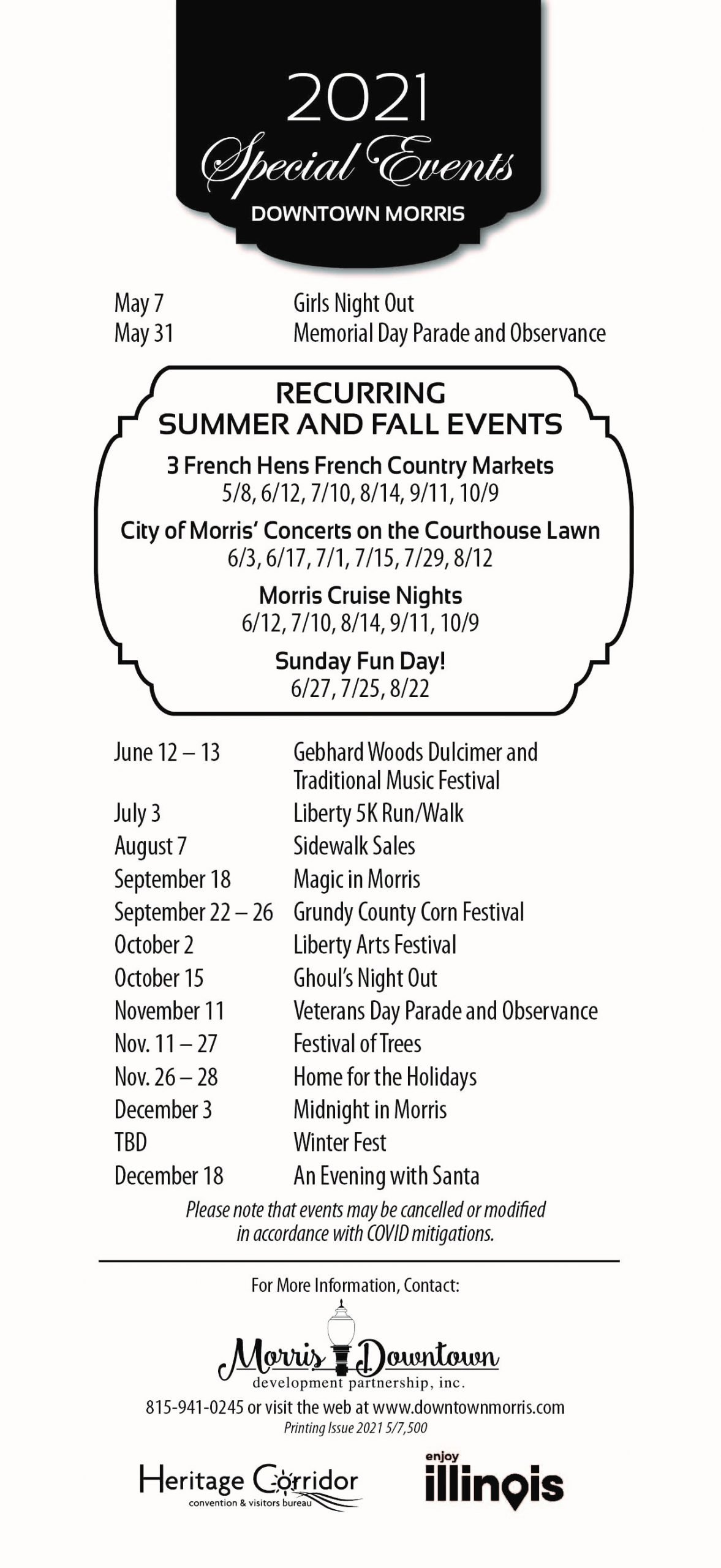 Check Out Our Downtown Events!